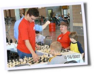 Kevin Teaching Chess
